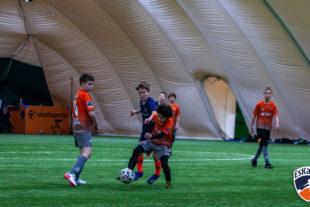 Kolejny weekend rocznika 2008 w lidze zimowej pod balonem